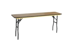 Rental store for TABLE 8 FT SKINNY 18W X 96L in Austin TX