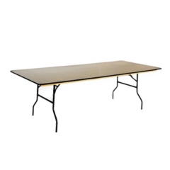 Rental store for TABLE CALI 8FT 42W X96 L in Austin TX