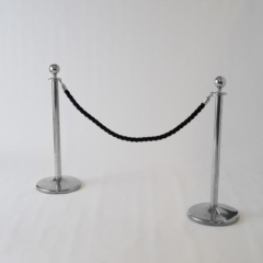 Rental store for STANCHION ROPE BLACK BRAIDED 58 in Austin TX