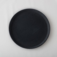 Rental store for TRAY COCKTAIL ROUND BLACK 16 in Austin TX